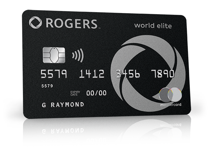 Carte World Elite.No Annual Fee Mastercard With Cash Back Rewards Rogers Bank